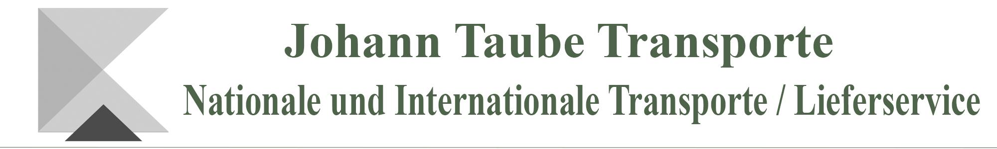 Johann Taube Transporte